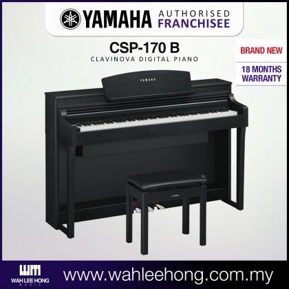 Yamaha Clavinova CSP-170 BK (CSP170 / CSP 170) *PRE ORDER ETA JANUARY 2021*