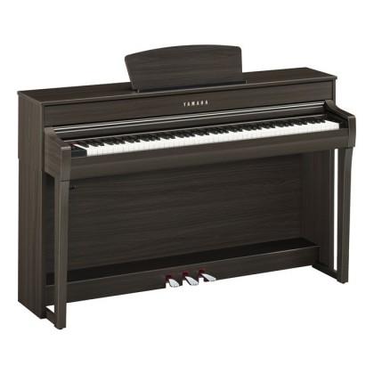 Yamaha Clavinova CLP-735 Digital Piano With Piano Bench - Dark Walnut (CLP735 / CLP 735) *PRE ORDER*
