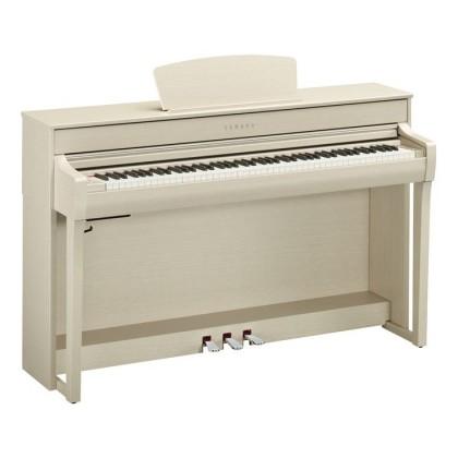 Yamaha Clavinova CLP-735 Digital Piano With Piano Bench - White Ash (CLP735 / CLP 735) *PRE ORDER*