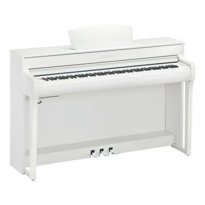 Yamaha Clavinova CLP-735 Digital Piano With Piano Bench - White (CLP735 / CLP 735) *PRE ORDER*
