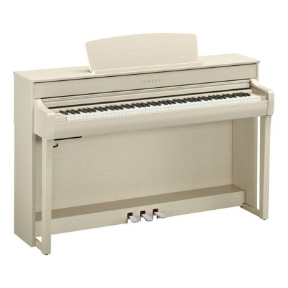 Yamaha Clavinova CLP-745 Digital Piano With Piano Bench - White Ash (CLP745 / CLP 745) *PRE ORDER*