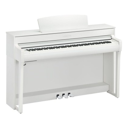 Yamaha Clavinova CLP-745 Digital Piano With Piano Bench - White (CLP745 / CLP 745) *PRE ORDER*