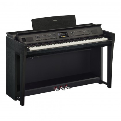 Yamaha Clavinova CVP-805 Digital Piano With Piano Bench - Black (CVP805 / CVP 805) *PRE ORDER*