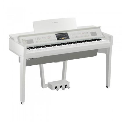 Yamaha Clavinova CVP-809 Digital Piano With Piano Bench - Polished White (CVP809 / CVP 809)