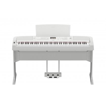 Yamaha DGX-670 88-Keys Portable Grand Digital Piano - White (DGX670 / DGX 670)