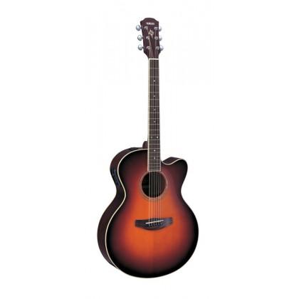 Yamaha CPX500 Medium Jumbo Cutaway Acoustic-Electric Guitar - Old Violin Sunburst (CPX-500)