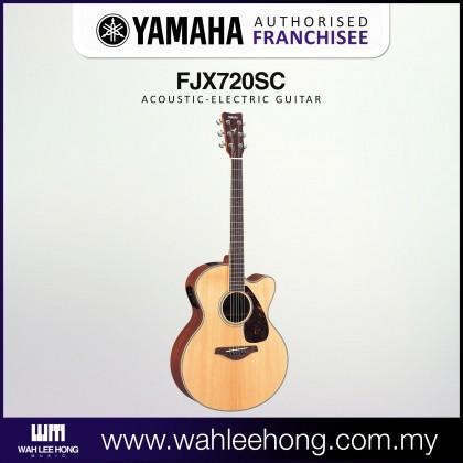 Yamaha FJX720SC Medium Jumbo Acoustic-Electric Guitar - Natural (FJX-720SC)