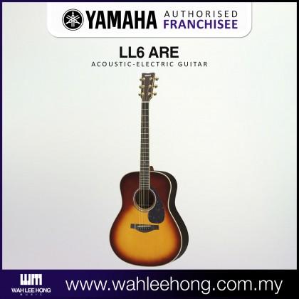 Yamaha LL6 ARE Original Jumbo Acoustic-Electric Guitar  - Brown Sunburst (LL6-ARE)