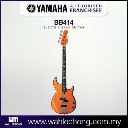 Yamaha BB414 4 String Electric Bass Guitar - Orange Metallic (BB-414)